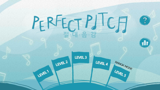 Perfect Pitch Blue