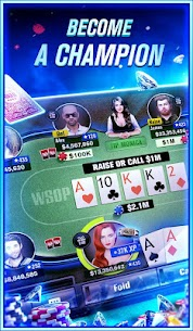 World Series of Poker – WSOP Free Texas Holdem 5