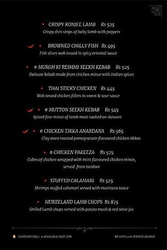 La La Land Brew Pub menu 4