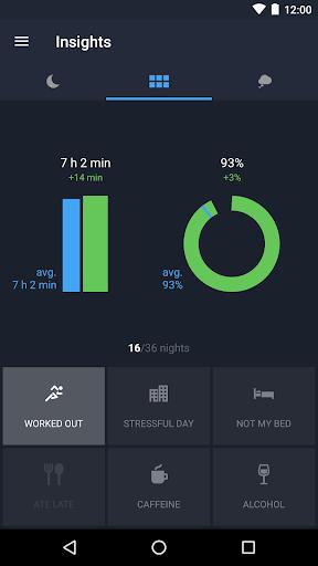 Runtastic Sleep Better: Sleep Cycle & Smart Alarm 2.6.1 screenshots 6