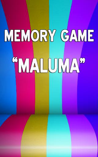 Maluma Memory Game