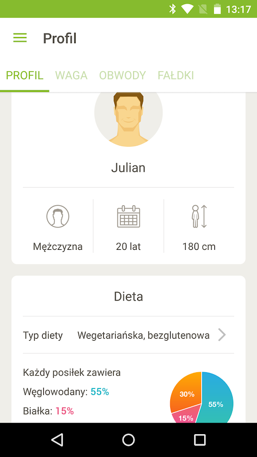 Happie Diet- screenshot