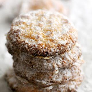 Orange Kissed Almond Cookies
