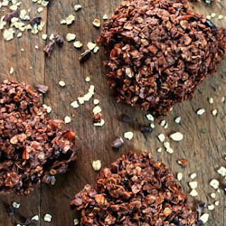 Chocolate No Bake Cookies - Healthy & Satisfying!