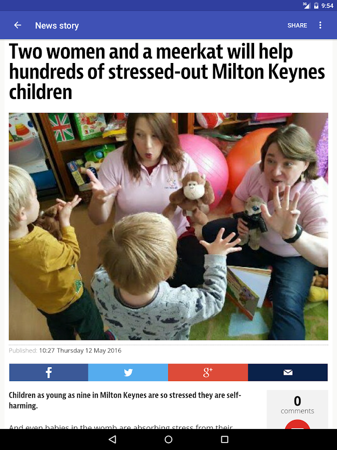 Milton Keynes Local News- screenshot