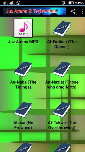 Juz Amma Dan Terjemahannya Pdf