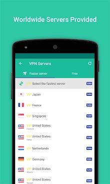 VPN Proxy Master-Free security screenshot 2