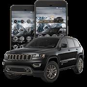 Black Jeep Big Suv Launcher Theme