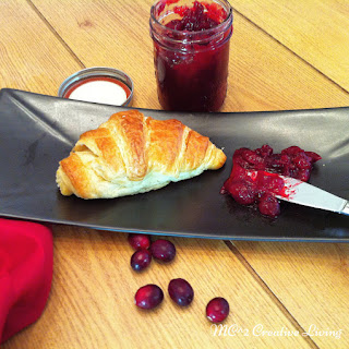 Home Made Cranberry Jelly.