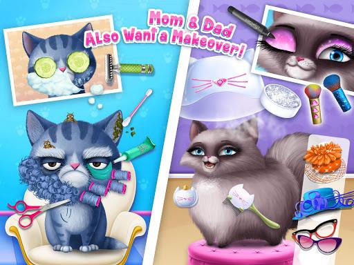 Cat Hair Salon Birthday Party - Virtual Kitty Care 6.0.20 screenshots 13