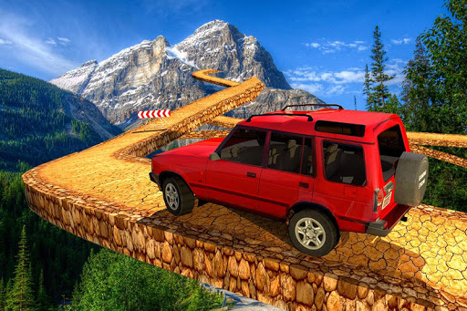 Offroad Jeep Driving Simulator : Impossible tracks screenshot 2