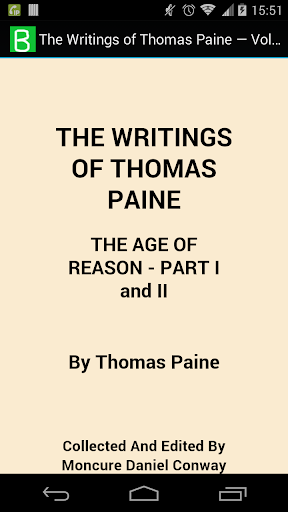 The Writings of Thomas Paine 4