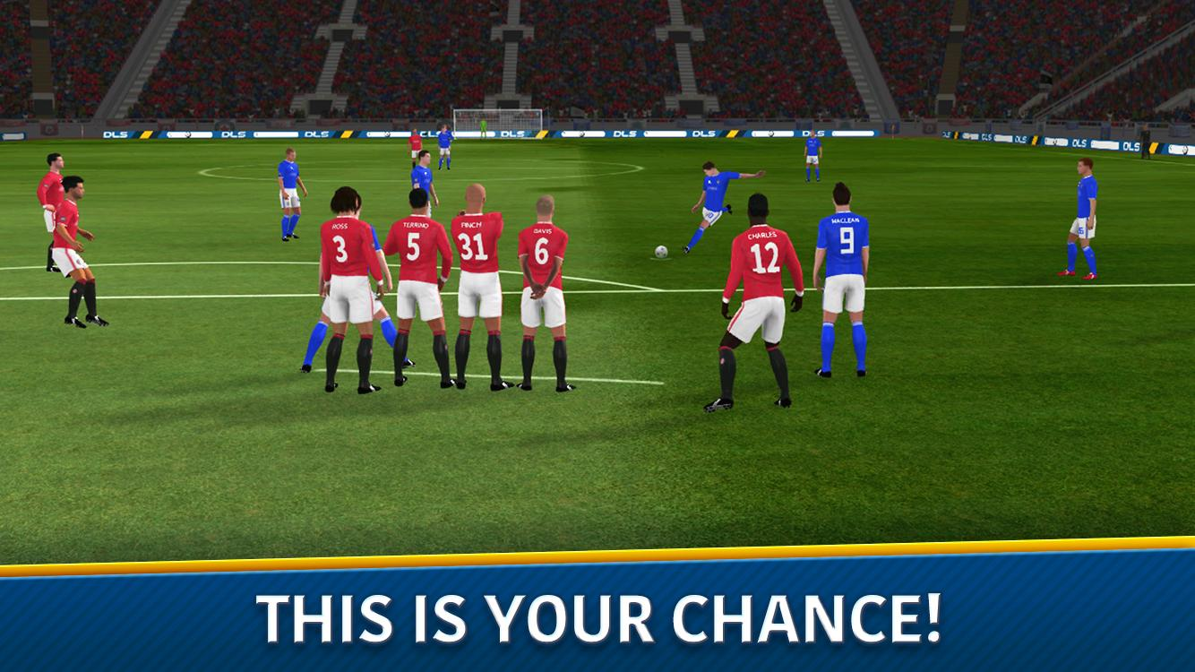 Dream League Soccer 2018 v5.054 Mod (Unlimited money)