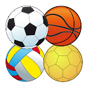 Ball Games for 2 players icon