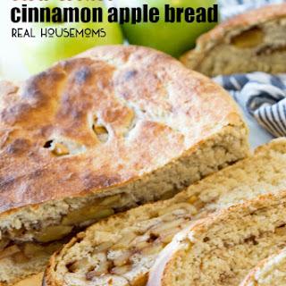 Slow Cooker Cinnamon Apple Bread