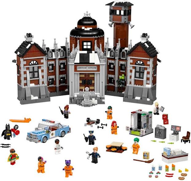 Contenido de Lego® 70912 Asilo Arkham