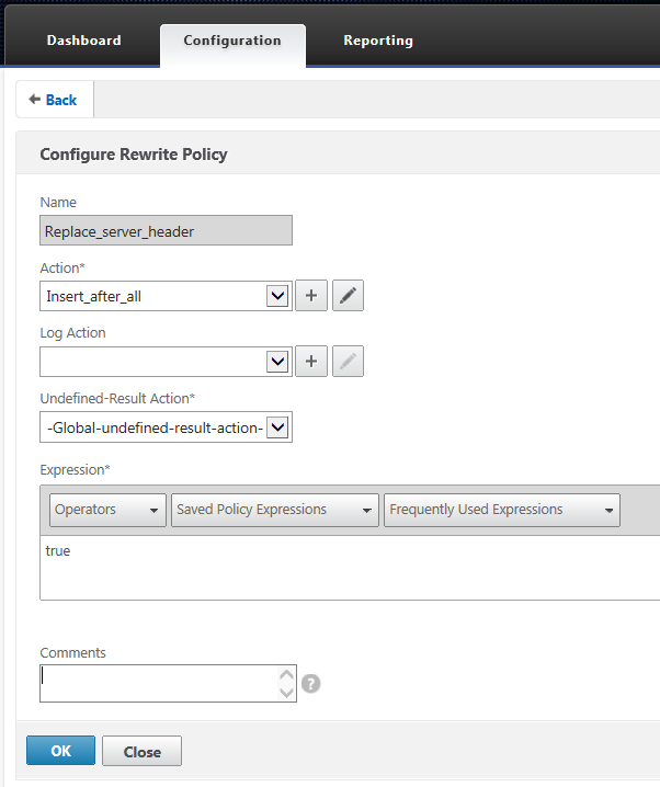My Home Netscaler Lab: HTTP Headers and Netscaler Response header