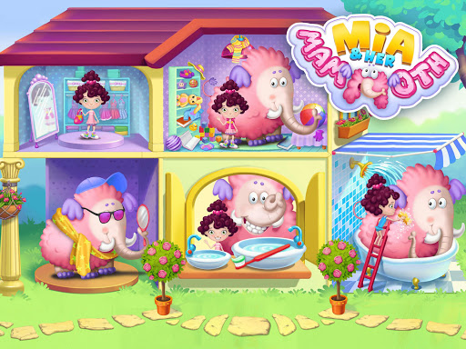 Miau2019s Secret Pet - Fluffy Pink Elephant Care 1.0.109 screenshots 8