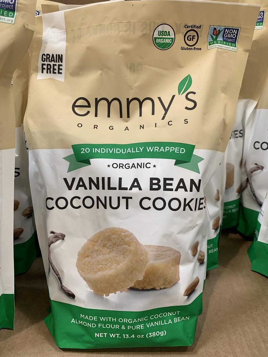 Vanilla Bean Coconut Cookies