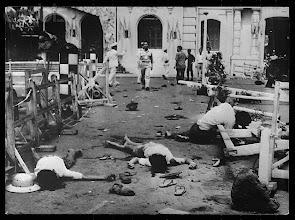 Photo: Vietnam --- Seven Killed 47 Wounded By Communist Bomb In Saigon Vietcong Versus South Vietna --- Image by © Hulton-Deutsch Collection/CORBIS