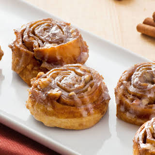 Mini Tortilla Cinnamon Buns.