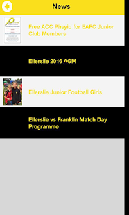 Ellerslie AFC- screenshot thumbnail