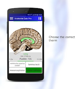 Anatomy Quiz screenshot 1