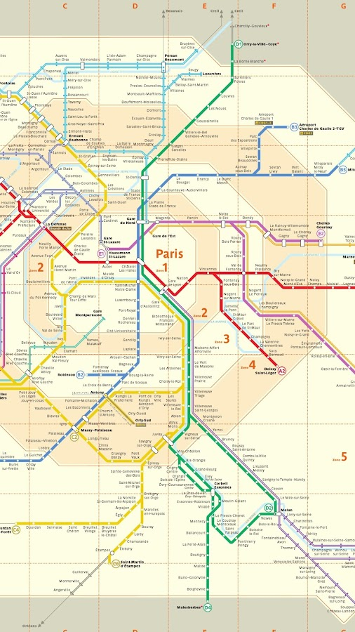 Paris Metro Offline Android Apps On Google Play - Paris map metro