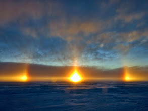 Photo: Amaizing sun dogs