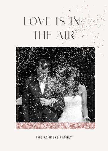Love Is In the Air - Wedding template