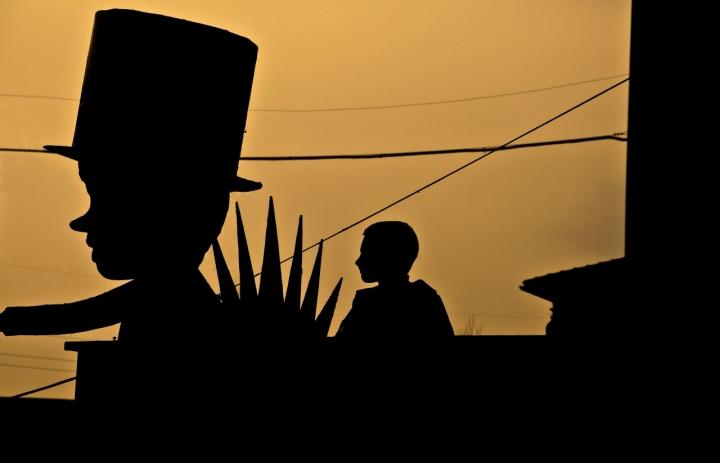 Il gigante e il bambino di Andrea Frati