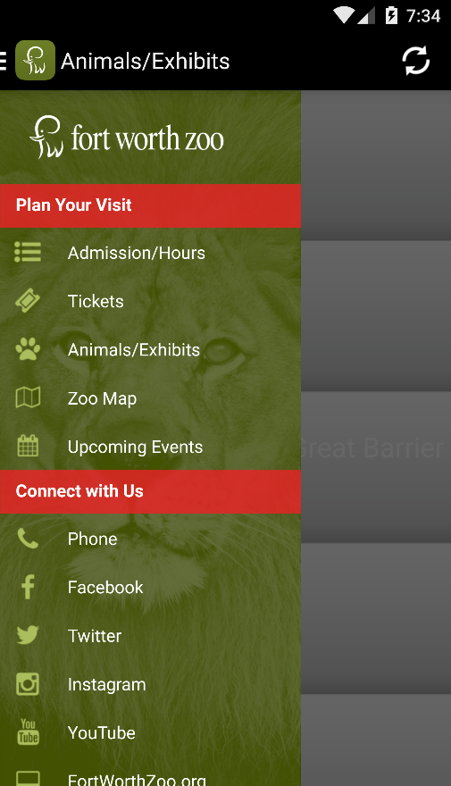 Fort Worth Zoo- screenshot