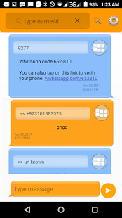 secure sms with voice speak - náhled