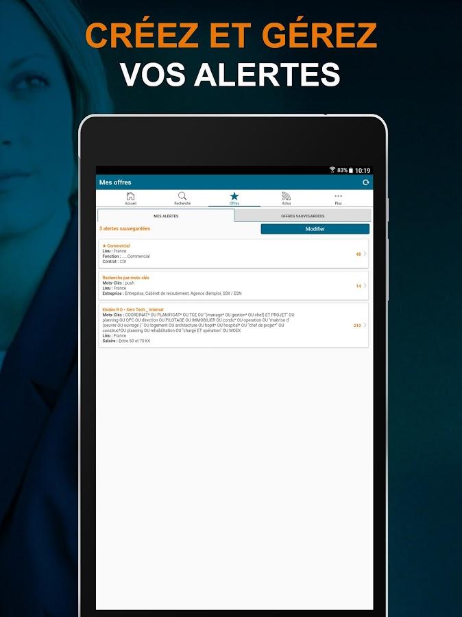 apec offres d emploi cadre applications android sur play