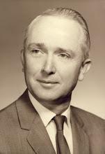 Photo: Faculty photo taken of Gordon for St. Johnsbury Academy, 1968.