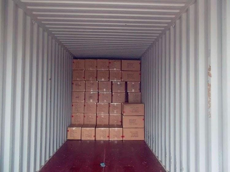Перевозка груза который занимает часть контейнера LCL