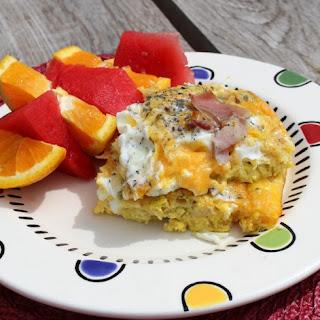 Waffle and Egg Casserole