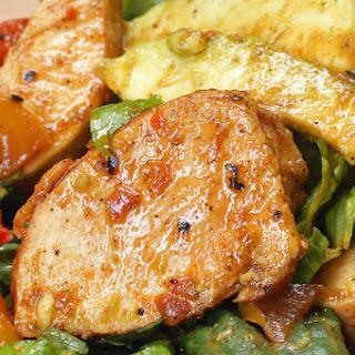1. Chicken Fajita Salad