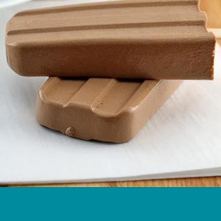 Keto Chocolate Pudding Pops.