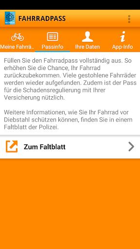 Fahrradpass 2.1.1 screenshots 4