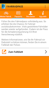 Fahrradpass- screenshot thumbnail