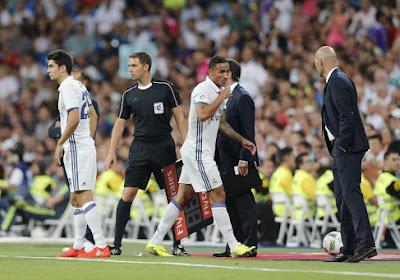 """Les Zidane père et fils adversaires: """"J'espère qu'il ne marquera pas"""""""