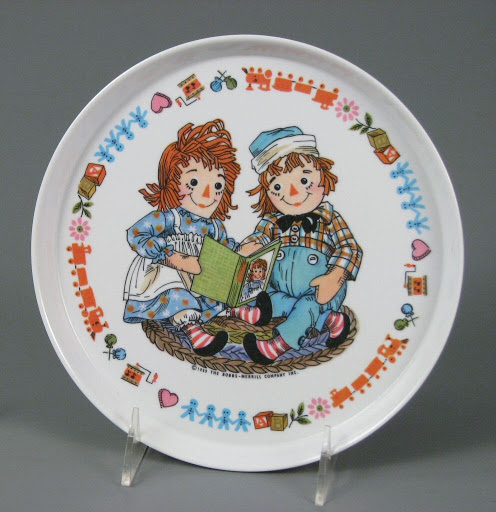 Plate:Raggedy Ann and Andy Plate