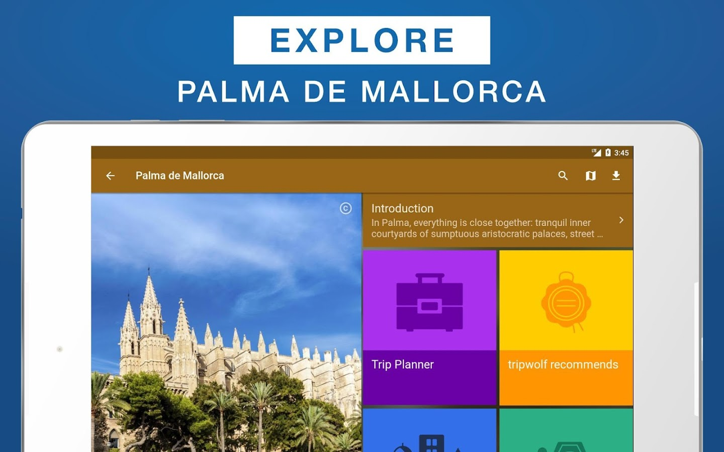 Palma de Mallorca Travel Guide- screenshot