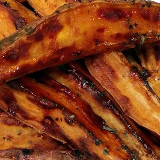 Roasted Sweet Potato Wedges.