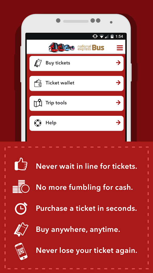 NXBus mTicket- screenshot