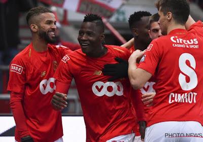 Standard trainde woensdag, twee dagen voor het duel tegen Antwerp, zonder internationals Cimirot, Marin, Djenepo en Ochoa