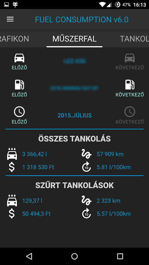 Fuel Consumption- screenshot