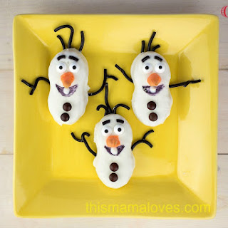 Olaf Nutter Butter Cookies