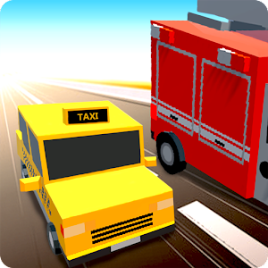 Blocky Racer Traffic Rush 2016 for PC and MAC